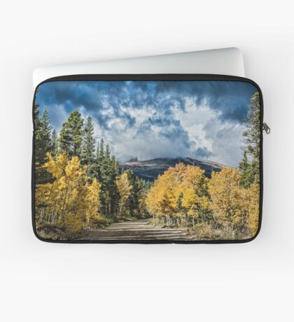 Changing Of The Colors - Colorado's New Coat Laptop Sleeve