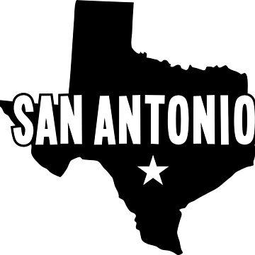 San Antonio, TX by kosmonaut