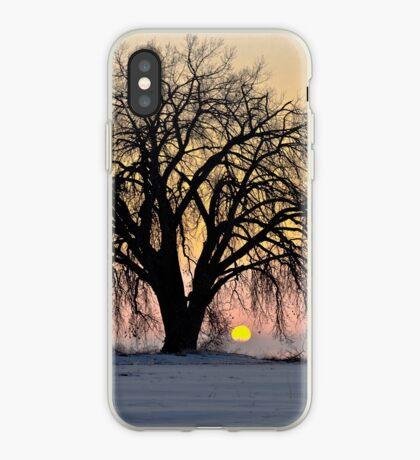 Cottonwood Cold Sunrise iPhone Case