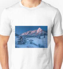 Cathedral - The Flatirons At Sunrise Unisex T-Shirt
