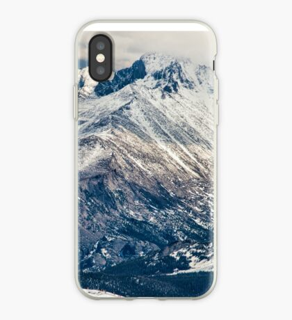 Snow Palaces of Trail Ridge Road iPhone Case