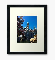 Spring queen shining brightly and spark...ly Framed Print