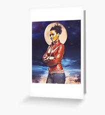 Martha Jones Greeting Card