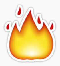 fire emoji Sticker
