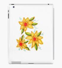 Flaming Blooms iPad Case/Skin