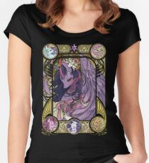 Princess Twilight Sparkle Women's Fitted Scoop T-Shirt