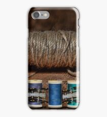 Apple Yarn Scale Thread iPhone Case/Skin