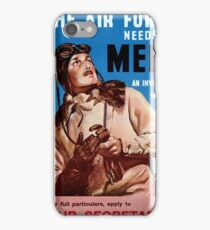 New Zealand Vintage Poster Restored iPhone Case/Skin