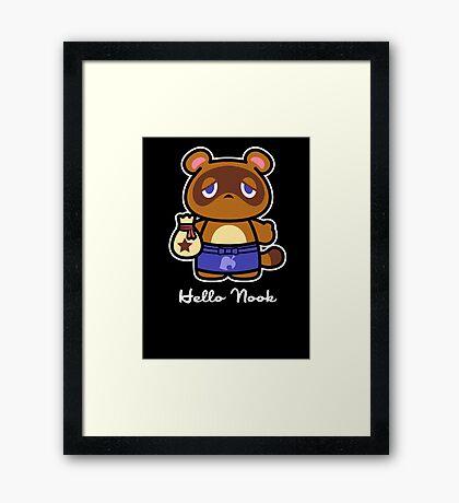 Hello Nook Framed Print