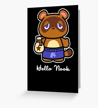 Hello Nook Greeting Card
