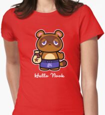 Hello Nook Women's Fitted T-Shirt