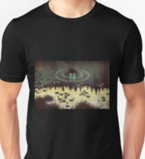 Postcard Theodor Kittelsen Nøkken  Slim Fit T-Shirt