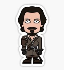 Aramis the Musketeer (sticker) Sticker