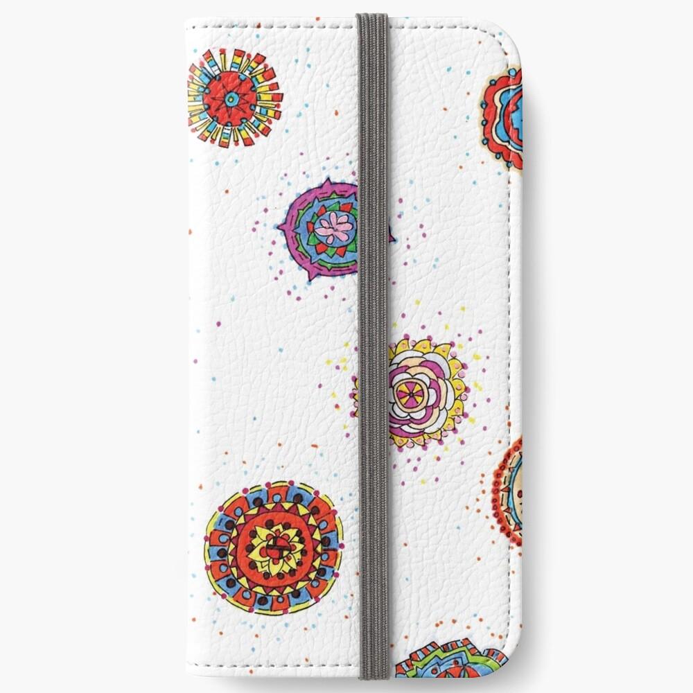 Snap Dragon pattern design iPhone Wallet