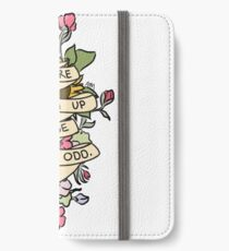 """Things Are Shaping Up To Be Pretty. Odd."" iPhone Wallet/Case/Skin"