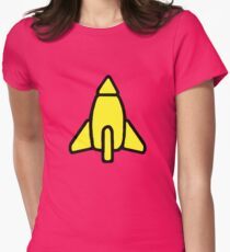 Reggie Rocket Women's Fitted T-Shirt