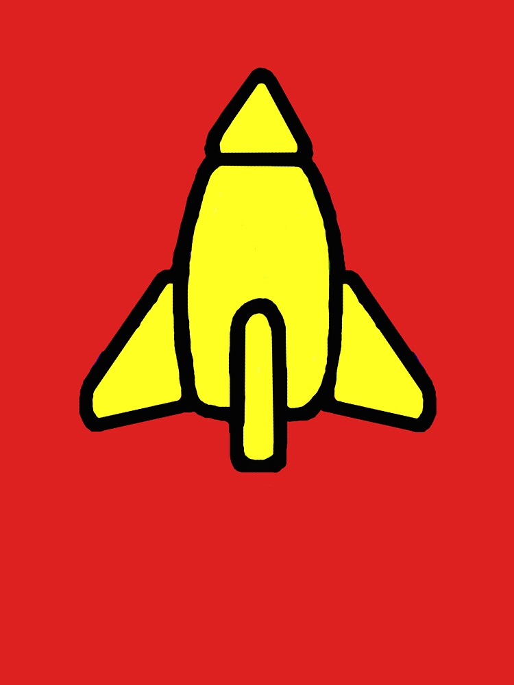 Reggie Rocket by Noveltee-Shirts