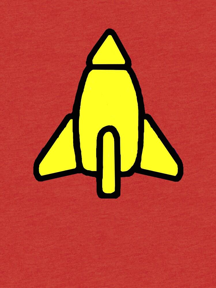 Reggie Rocket by Noveltee-Shirts