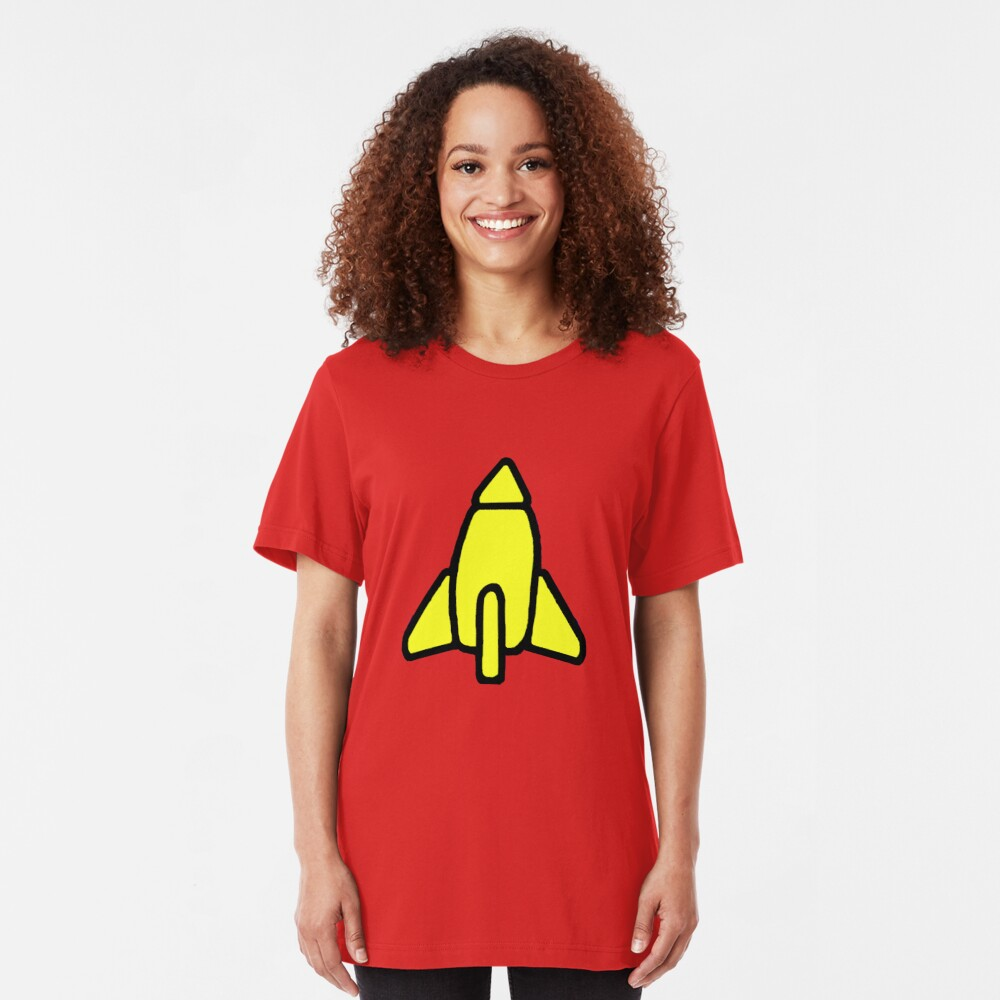Reggie Rocket Slim Fit T-Shirt