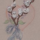 PussyWillows (the feline variety) by justteejay