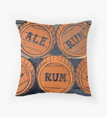 Ale to Rum Throw Pillow