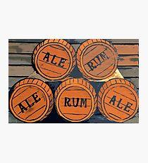 Ale to Rum Photographic Print
