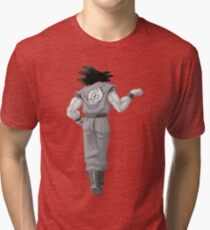 "Goku, best friend (To buy in combo with ""Vegeta, best friend"") Tri-blend T-Shirt"