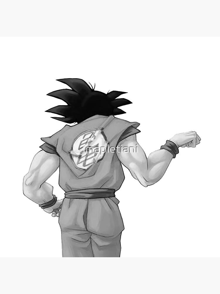 """Goku, bester Freund (In Combo mit """"Vegeta, bester Freund"""" kaufen) von mapletiani"""