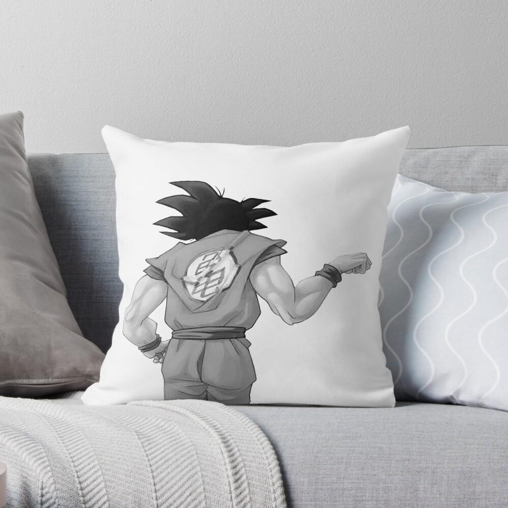 """Goku, bester Freund (In Combo mit """"Vegeta, bester Freund"""" kaufen) Dekokissen"""