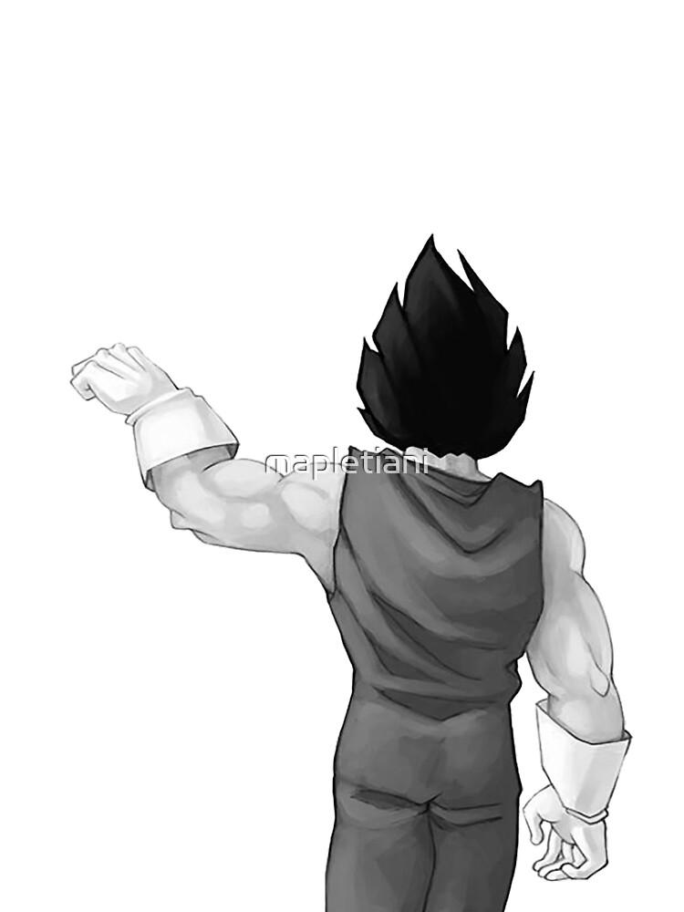 """Vegeta, bester Freund (In Kombination mit """"Goku, bester Freund"""" kaufen) von mapletiani"""