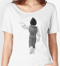 """Vegeta, best friend (To buy in combo with """"Goku, best friend"""") Women's Relaxed Fit T-Shirt"""
