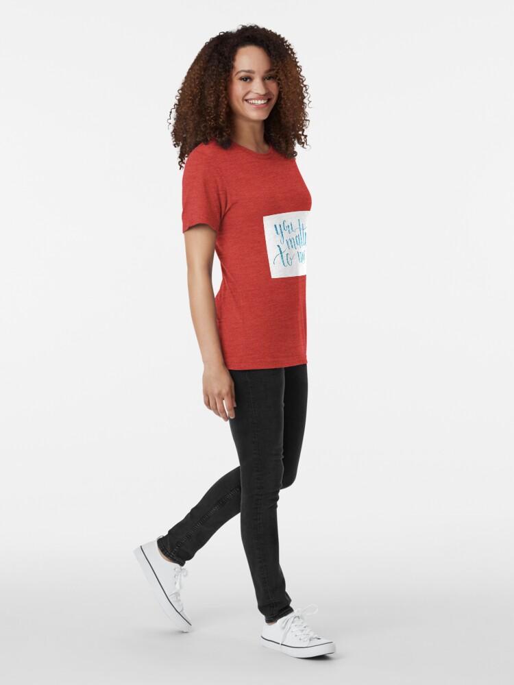 Vista alternativa de Camiseta de tejido mixto Tú me importas, la camarera el musical