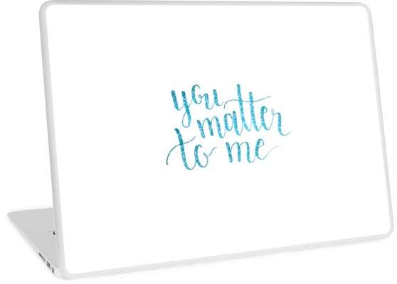 «Tú me importas, la camarera el musical» de bwaycalligraphy