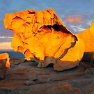 Remarkable Rocks Sunset, Kangaroo Island, South Australia by Michael Boniwell