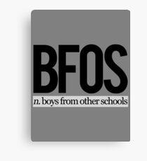 BFOS Canvas Print