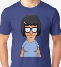 Tina Belcher Unicorn Pattern Purple Unisex T-Shirt