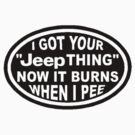 I got your Jeep thing by thatstickerguy