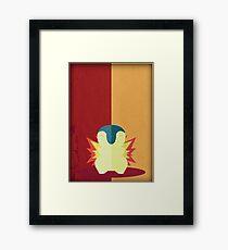 Pokemon - Cyndaquil #155 Framed Print