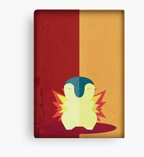 Pokemon - Cyndaquil #155 Canvas Print