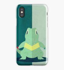 Pokemon - Totodile #158 iPhone Case/Skin
