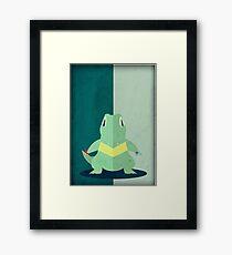 Pokemon - Totodile #158 Framed Print