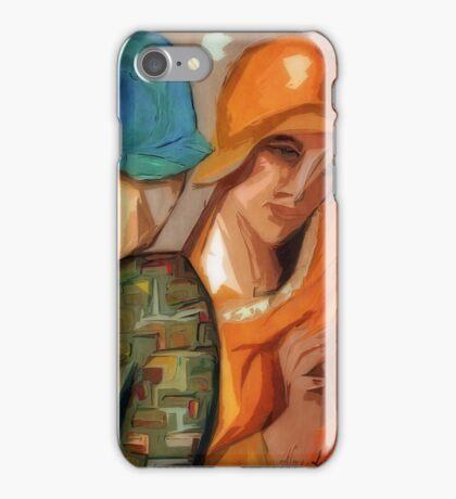 Little Gossips: Ode to Lempika's Les Amies iPhone Case/Skin