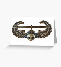 US Army Infantry - Airmobile Greeting Card