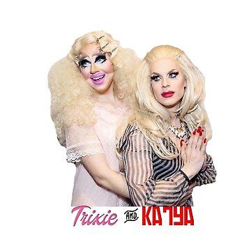 Trixie Mattel And Katya by STILLBIRTH