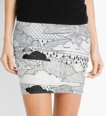 Clouds Mini Skirt