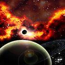 The-Blaze-Nebula by zallus