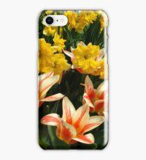 Tulips and Daffs iPhone Case/Skin
