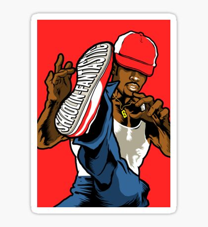 Shaolin Fantastic Sticker