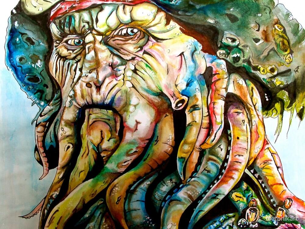 Davy Jones by weronikart
