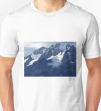 Blue Cold Glacier Unisex T-Shirt